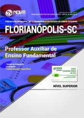 Apostila Prefeitura de Florianópolis - SC - Prof. Auxiliar de Ensino Fundamental