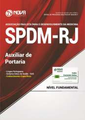 Apostila SPDM-RJ - Auxiliar de Portaria