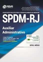 Apostila SPDM-RJ - Auxiliar Administrativo