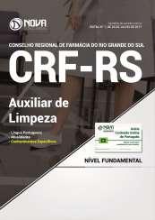 Apostila CRF-RS - Auxiliar de Limpeza