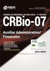 Apostila CRBio-PR 7ª Região - Auxiliar Administrativo/Financeiro