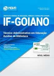 Apostila IF Goiano - Auxiliar de Biblioteca