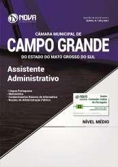 Apostila Câmara de Campo Grande - MS - Assistente Administrativo