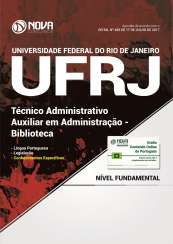 Apostila UFRJ - Auxiliar em Administração - Biblioteca