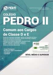 Apostila Colégio Pedro II - RJ - Comum aos Cargos de Classe D e E