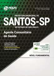 Apostila Prefeitura Municipal de Santos - SP - Agente Comunitário de Saúde