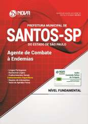 Apostila Prefeitura Municipal de Santos - SP - Agente de Combate à Endemias