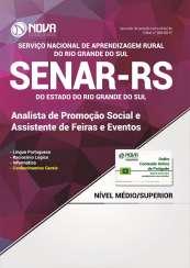 Apostila SENAR-RS - Analista de Promoção Social e Assistente de Feiras e Eventos