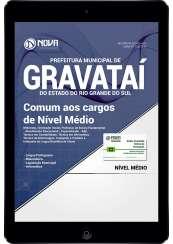 Download Prefeitura de Gravataí-RS PDF - Comum aos Cargos de Nível Médio