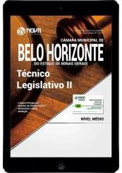Download Apostila Câmara de Belo Horizonte - MG PDF - Técnico Legislativo II