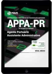 Download Apostila APPA-PR PDF - Agente Portuário - Assistente Administrativo