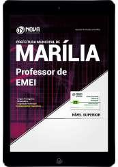 Download Prefeitura de Marília-SP PDF - Professor de EMEI