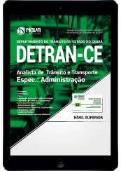 Download Apostila DETRAN-CE PDF - Analista de Trânsito e Transporte: Administração