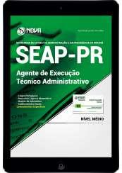 Download Apostila SEAP-PR PDF -  Agente de Execução - Técnico Administrativo