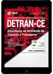Download Apostila DETRAN CE Pdf - Assistente de Atividade de Trânsito e Transporte