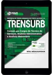 Download Apostila TRENSURB PDF - Comum aos Cargos de Técnico de Serviços, Analista Administrativo e Analista Metroviário