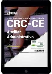 Download Apostila CRC-CE PDF - Auxiliar Administrativo