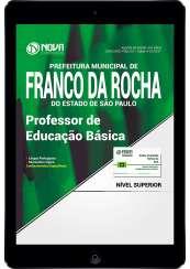 Download Apostila Prefeitura de Franco da Rocha - SP Pdf - Professor de Educação Básica