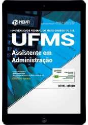 Download Apostila UFMS PDF - Assistente em Administração