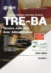 Apostila TRE-BA - Técnico Judiciário - Área: Administrativa