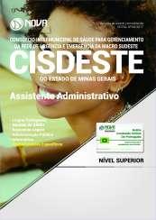 Apostila SAMU MG (CISDESTE) - Assistente Administrativo