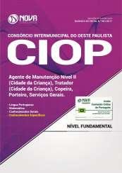 Apostila CIOP-SP - Agente de Manutenção Nível II, Tratador, Copeira, Porteiro e Serviços Gerais