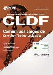 Apostila Câmara Legislativa do DF (CLDF) - Comum aos cargos de Consultor Técnico-Legislativo