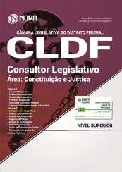 Apostila Câmara Legislativa do DF (CLDF) - Consultor Legislativo - Área: Constituição e Justiça