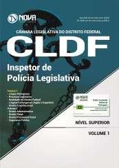 Apostila Câmara Legislativa do DF (CLDF) - Inspetor de Polícia Legislativa
