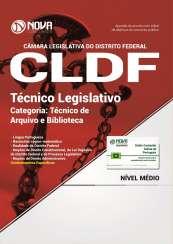 Apostila CLDF 2017 - Técnico Legislativo - Categoria: Técnico de Arquivo e Biblioteca