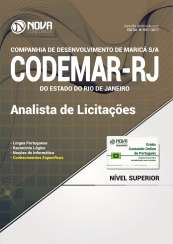 Apostila Codemar-RJ (Pref. de Maricá) - Analista de Licitações