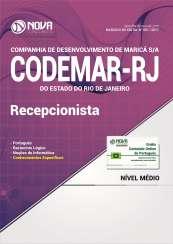 Apostila Codemar-RJ (Pref. de Maricá) - Recepcionista