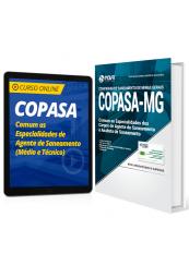 Combo COPASA - Comum as Especialidades de Agente de Saneamento (Médio e Técnico)