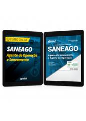 Combo SANEAGO - Agente de Operação e Saneamento - Curso Online + Apostila
