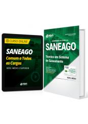 Combo SANEAGO - Técnico em Sistema de Saneamento