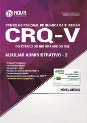 Apostila CRQ-V (5ª Região) - Auxiliar Administrativo 2