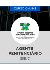 Curso Online SEJUC RN 2017 - Agente Penitenciário I