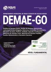 Apostila DEMAE-GO - Comum aos cargos de Nível Fundamental