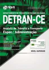 Apostila DETRAN-CE - Analista de Trânsito e Transporte: Administração