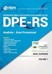 Apostila DPE-RS - Analista - Área Processual