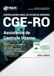 Apostila CGE - RO - Assistente de Controle Interno