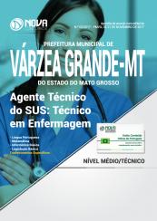 Apostila Prefeitura de Várzea Grande - MT - Agente Técnico do SUS: Técnico em Enfermagem
