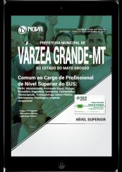Download Apostila Prefeitura de Várzea Grande - MT PDF - Comum ao Cargo de Profissional de Nível Superior do SUS