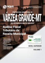 Apostila Prefeitura de Várzea Grande - MT - Auditor Fiscal Tributário da Receita Municipal