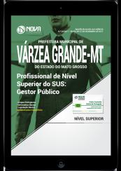 Download Apostila Prefeitura de Várzea Grande - MT PDF - Profissional de Nível Superior do SUS: Gestor Público