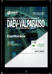 Download Apostila DAEV-Valparaíso - SP PDF - Escriturário