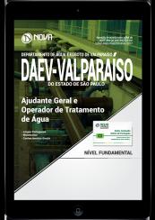 Download Apostila DAEV-Valparaíso - SP PDF - Ajudante Geral e Operador de Tratamento de Água