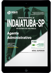 Download Apostila Câmara Municipal de Indaiatuba - SP PDF - Agente Administrativo