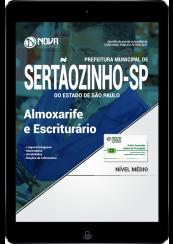 Download Apostila Prefeitura de Sertãozinho - SP PDF - Almoxarife e Escriturário
