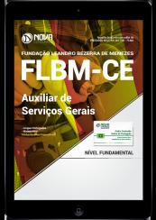 Download Apostila FLBM - CE PDF - Auxiliar de Serviços Gerais